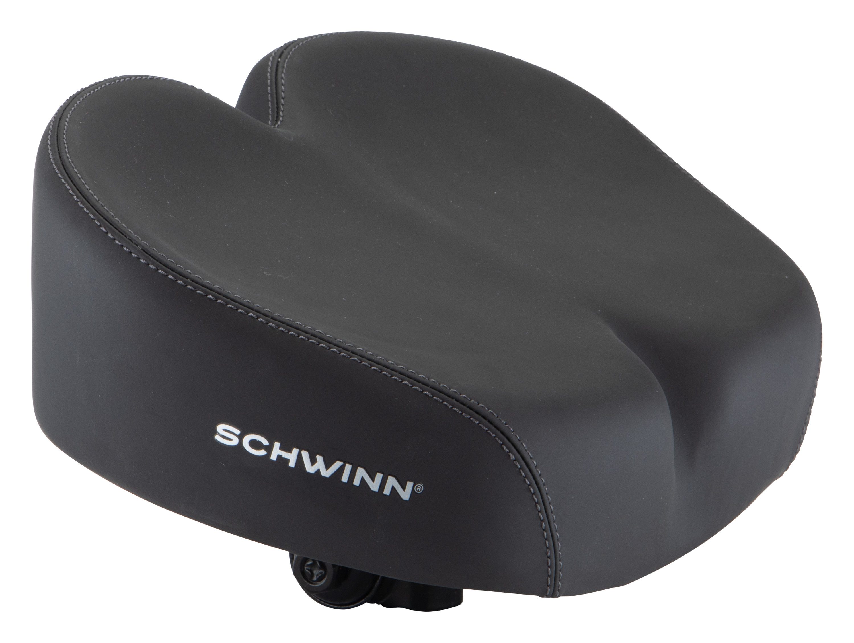 Bicycle Bike Extra Soft Foam Seat Cushy NEW Schwinn Quilted Wide Cruiser Saddle