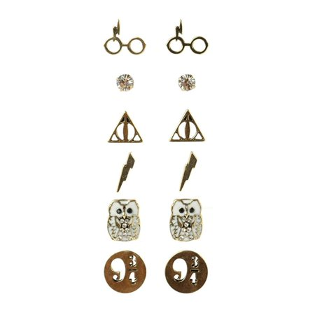 - Harry Potter Symbols Earrings, Set of 6 Pairs, Merchandise from Hot Topic. Pop Culture. Music. Fashion. By WB