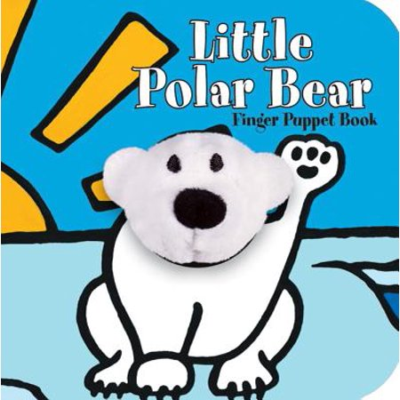 Polar Bear Wood - Little Polar Bear Finger Puppet Book (Board Book)