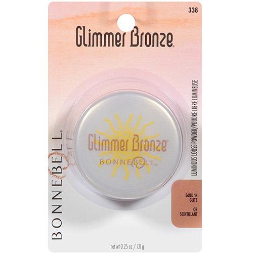 Bonne Bell Glimmer Bronze Highlighting Dust, Gold N Glitz, 0.25 Oz - 2 Ea
