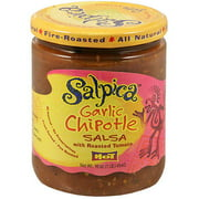 Salpica Chipotle Garlic Salsa, 16 oz (Pack of 6)