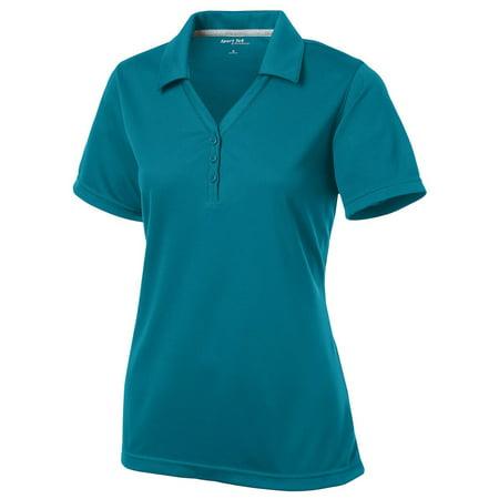 Sport-Tek Women's Y-Placket Moisture Wicking Polo Shirt