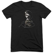 Bettie Page Whip It! Mens Tri-Blend Short Sleeve Shirt