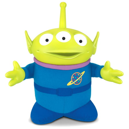 Toy Story 4 SPACE ALIEN Talks with Light-Up Antenna ...