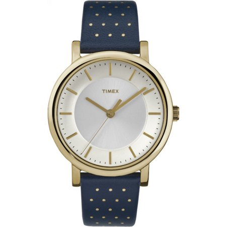 Women's Originals Blue Leather Dress Watch (Black Leather Dress Watch)