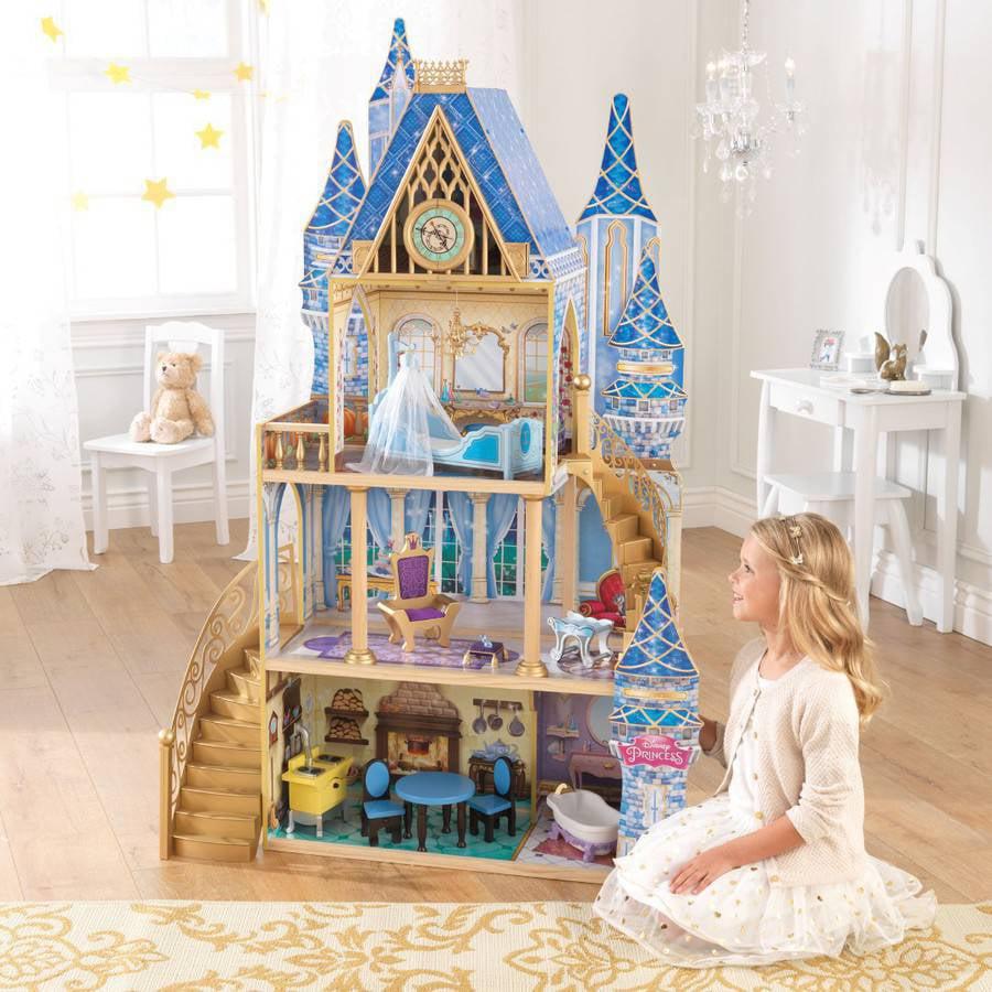 Disney Princess Cinderella Royal Dreams Dollhouse with Furniture