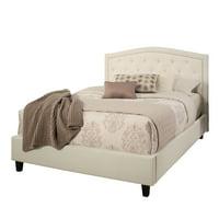 Devon & Claire Blaire Tufted Upholstered Platform Bed, Full
