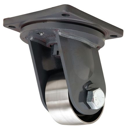 Hamilton Plate Caster,Swivel,Forged Steel,6 in,12,000 lb,D, S-MD-63FST