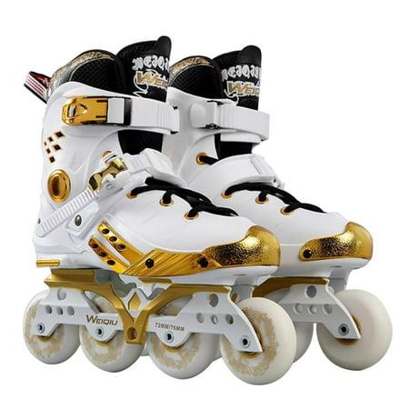 Lights For Roller Skates (Full Light Up LED Wheel Roller Skates Universal Inline Skates For Skating)