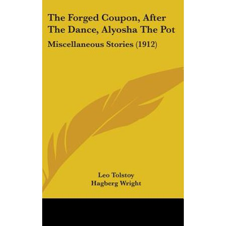 The Forged Coupon, After the Dance, Alyosha the Pot : Miscellaneous Stories (1912)](Post Coupons)