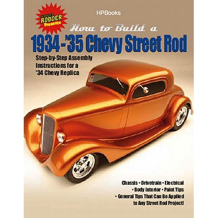 How to Build 1934-'35 Chevy St RodsHP1514 - eBook