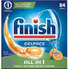Finish GelPacs All In 1 Dishwashing Detergent Orange 84 Ct $10.79