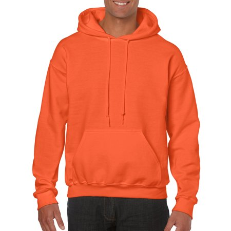 Big Mens Hooded Sweatshirt - Green Mens Pullover