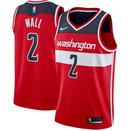 John Wall Washington Wizards Nike Swingman Jersey Red - Icon