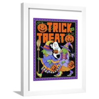 Halloween Witches Framed Print Wall Art By Kimura Designs