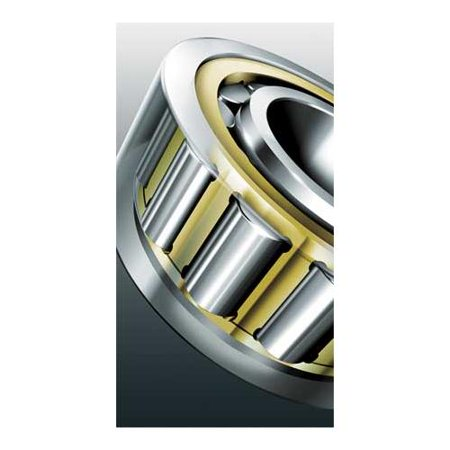 Fag Bearings - FAG BEARINGS NU213-E-M1-C3 Cylindrical BRG, Cage Guided, Bore 65 mm