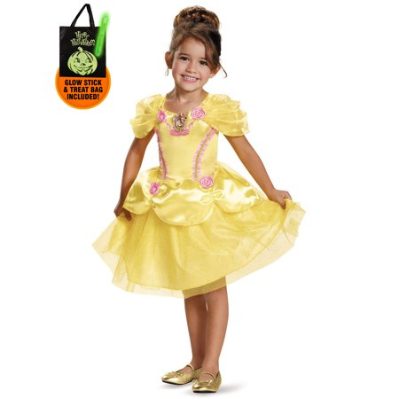Disney Princess Toddler Belle Classic Costume Treat Safety Kit](Trick R Treat Sam Costume For Sale)