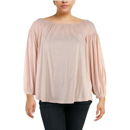 Ralph Lauren Womens Pink Long Sleeve Scoop Neck Top  Size: - Lauren X Factor Halloween