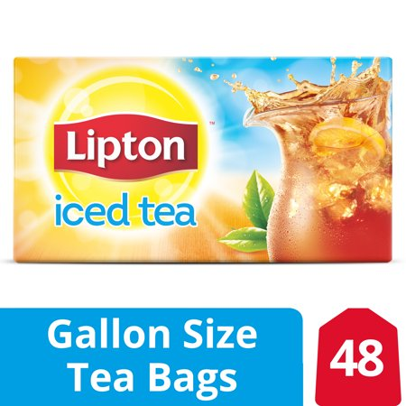 Lipton Unsweetened Gallon-Sized Black Iced Tea Bags, 48 ct