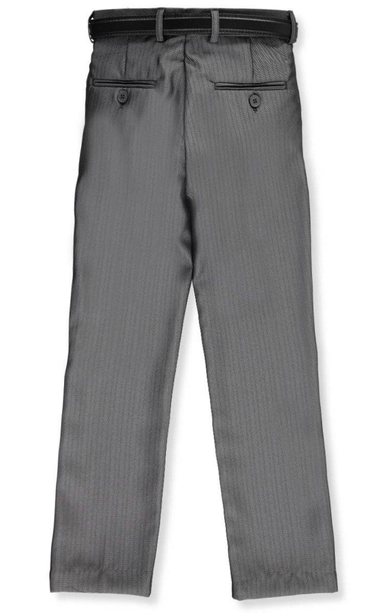 Sizes 4-7 Alberto Danelli Little Boys/' Belted Dress Pants