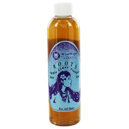 Roots Hair Tonic Apple Cider Vinegar For All Hair Types - 8 fl. oz. by Wise Ways (pack of