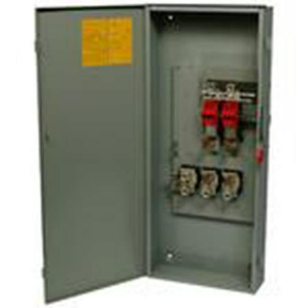 Eaton DG323NGB Safety Switch 100A 3P 240V Type DG Fusible NEMA 1