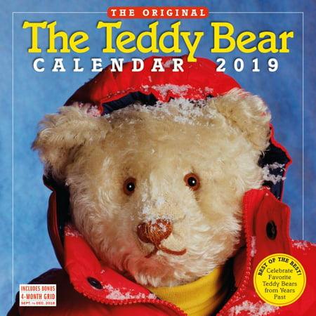 The Teddy Bear 2019 Calendar (Bear Calendar)