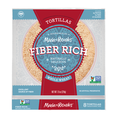 - Maria and Ricardo's Low Carb Tortilla, Keto-Friendly, Vegan Tortilla, High Fiber Tortilla