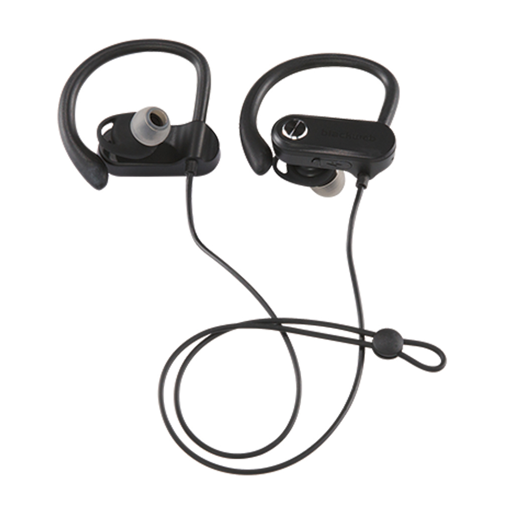 Blackweb Wireless Bluetooth Sport Earbuds Black Walmart Com Walmart Com
