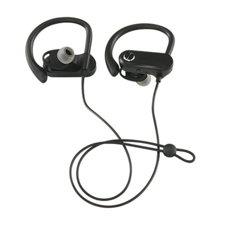 Blackweb Wireless Bluetooth Sport Earbuds, Black