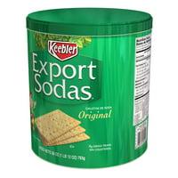 Keebler Export Sodas, Crackers, Original, 28 Oz