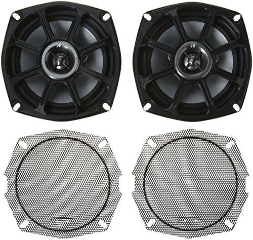 Kicker 10PS5250 5.25-inch PowerSports Weatherproof Coaxial Speakers, 2-Ohm