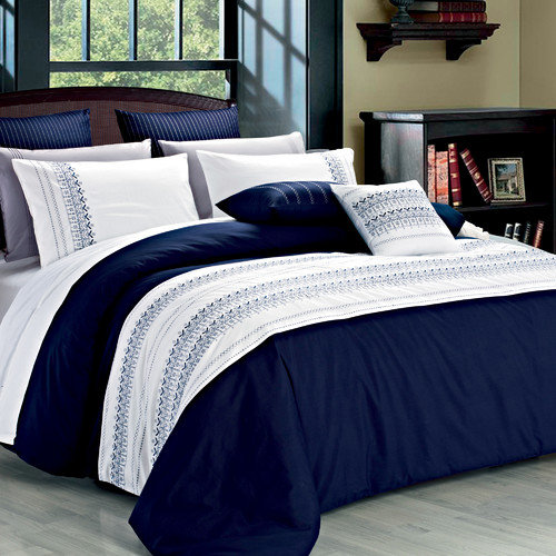 North Home Clarice 3 Piece Duvet Cover Set