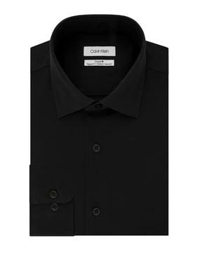 Regular-Fit Non-Iron Textured Stretch Dress Shirt