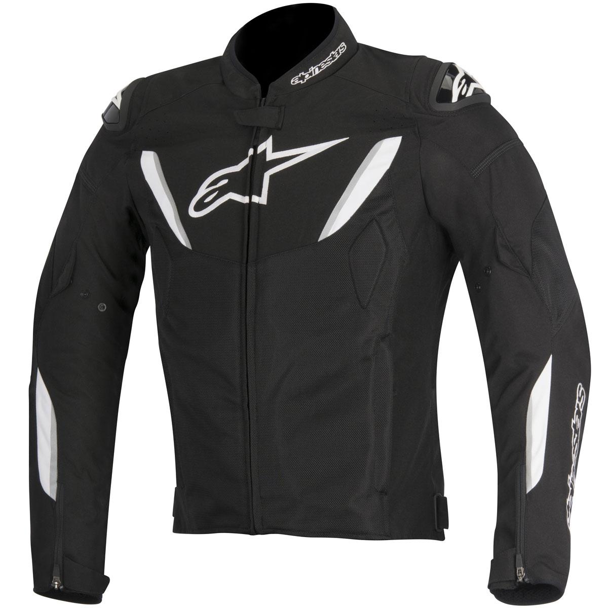 Alpinestars T-GP R Air Mens Vented Textile Jacket Black/White