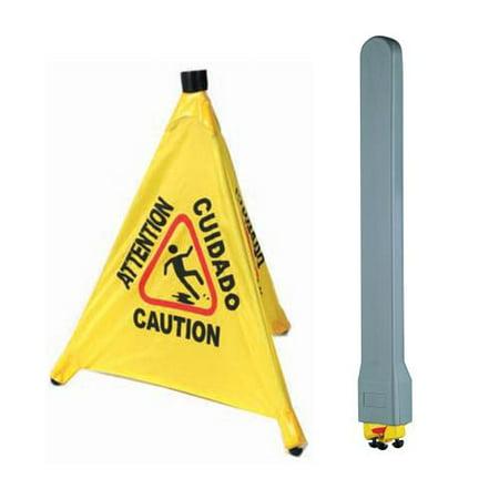 Winco - CSF-SET - Wet Floor Sign