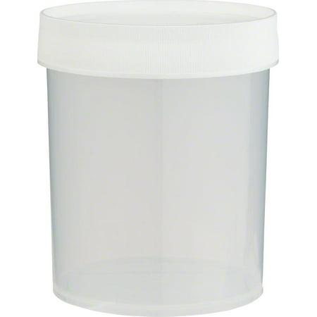 Nalgene Straight Side Jar: 32oz, Clear (Nalgene Poly Jar)