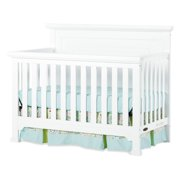 Child Craft Roland™ 4-in-1 Convertible Baby Crib, Matte White