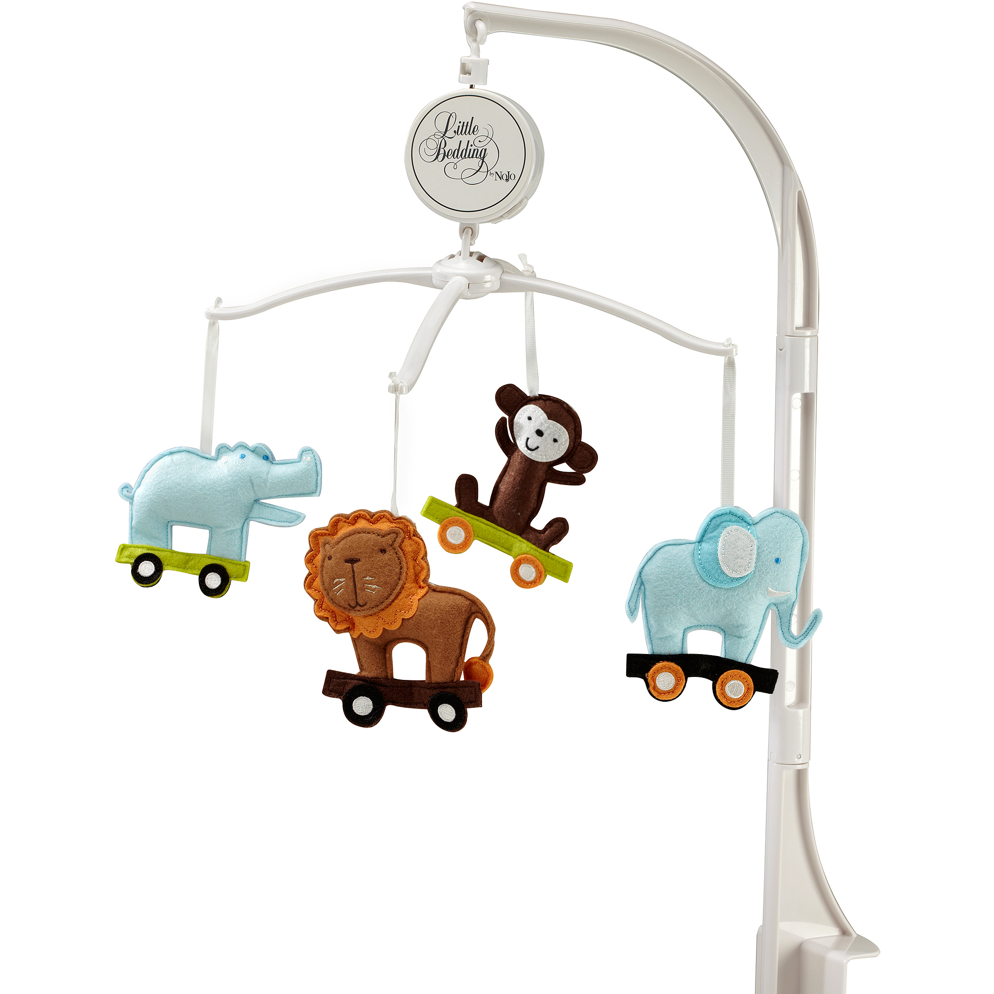 Little Bedding by NoJo Critter Pals Musical Mobile