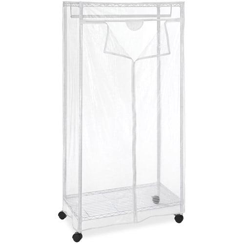 """Whitmor 36"""" Supreme Clothes Closet, White by Whitmor"""