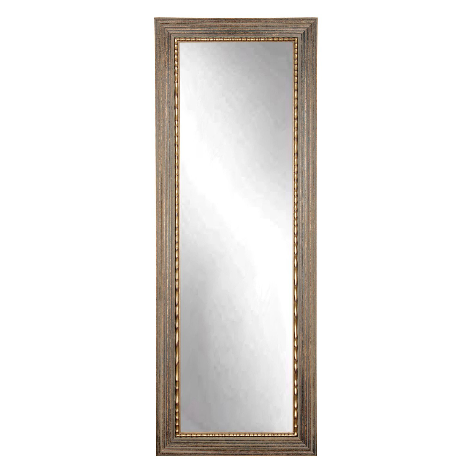 BrandtWorks Bronze Wood Trail Floor Mirror by Overstock