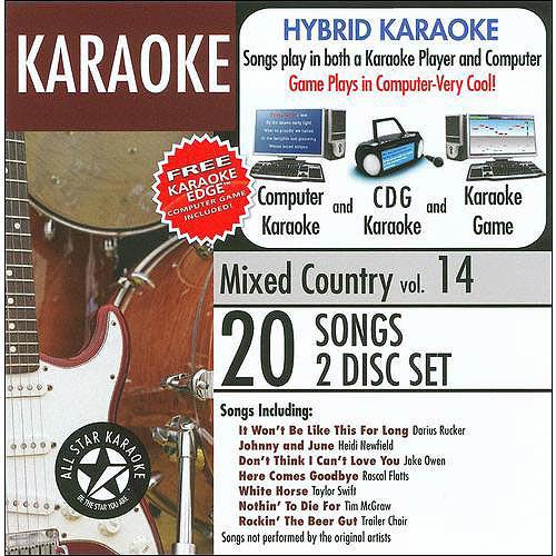 ALL STAR KARAOKE: MIXED COUNTRY, VOL. 14