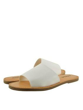 906e3be77 Product Image Soda Sansa-S Womens Open Toe Slip On Sandals
