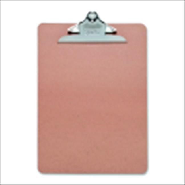 Sparco 1078313 Clipboard, 9 x 12.5 In, Hardboard, Brown