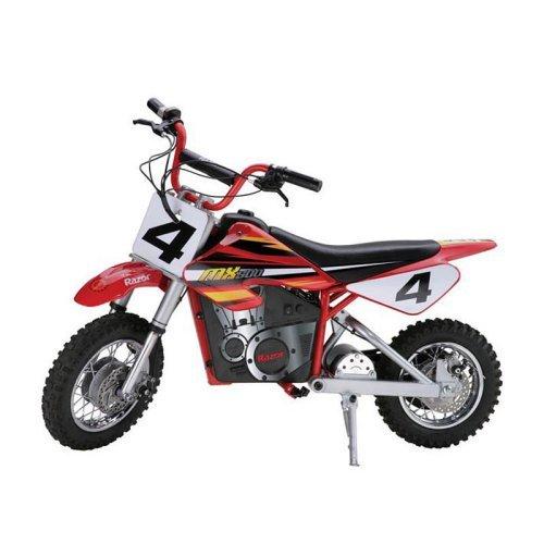 Carros Y Motos Electricas Para Niños Razor Dirt Rocket motocicleta pilas juguete + Razor en Veo y Compro