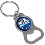 Evergreen Enterprises Bottle Opener Key Ring -Edmonton Oilers, 4.8'' x 2.3'' x 0.3'' inches
