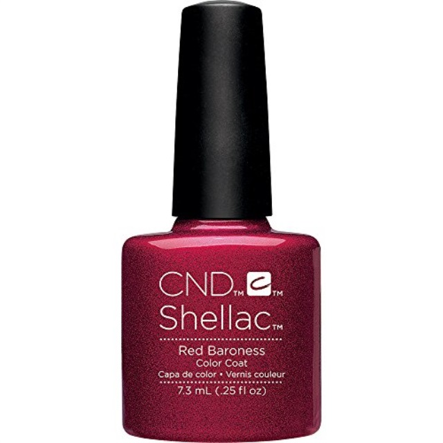 CND Shellac Power Polish Color Coat - Color : Azure Wish