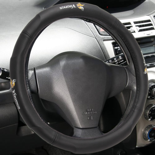 Minnesota Vikings Steering Wheel Cover  - - No Size