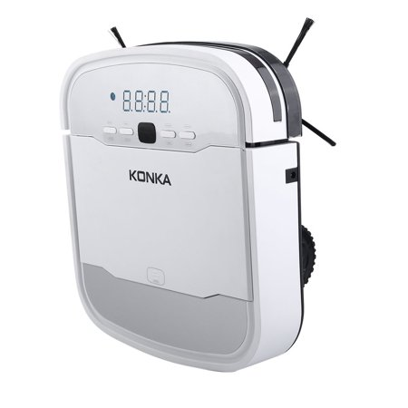 KONKA KC-V1 intelligent sweeping robot thin plan mobile phone reservation  remote control wet and dry white