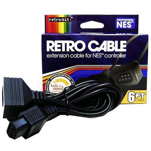 RETRO-BIT NES Extension Cable, 6' (NES)